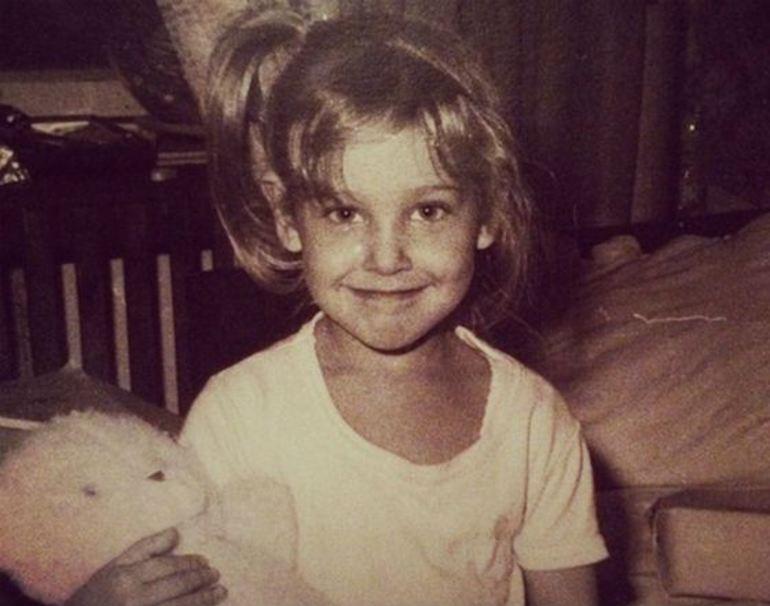 Юлия Ковальчук в детстве