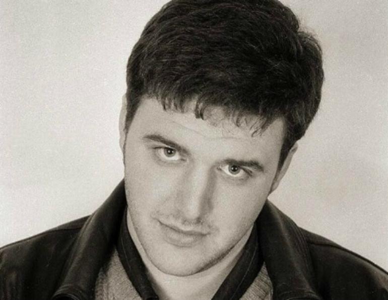 Максим Виторган в молодости