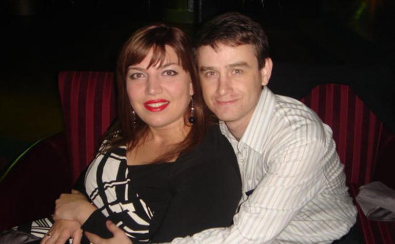 Екатерина Скулкина и её муж Денис
