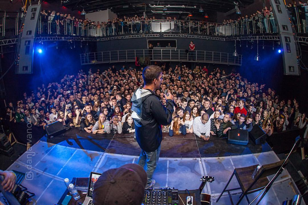 Концерт Федука