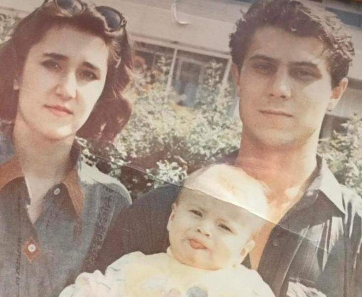 Thomas Mraz и его родители