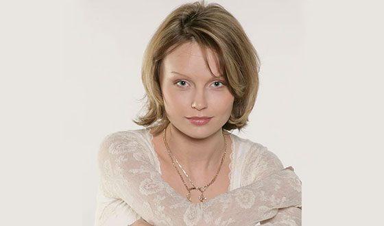 Юлия Подозерова в молодости