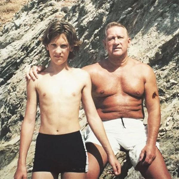 Рэпер T-Killah и его отец Иван Тарасов.