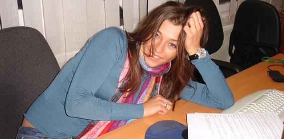 Алина Астровская в университете