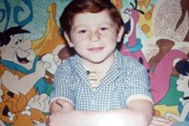 Сауль Альварес в детстве